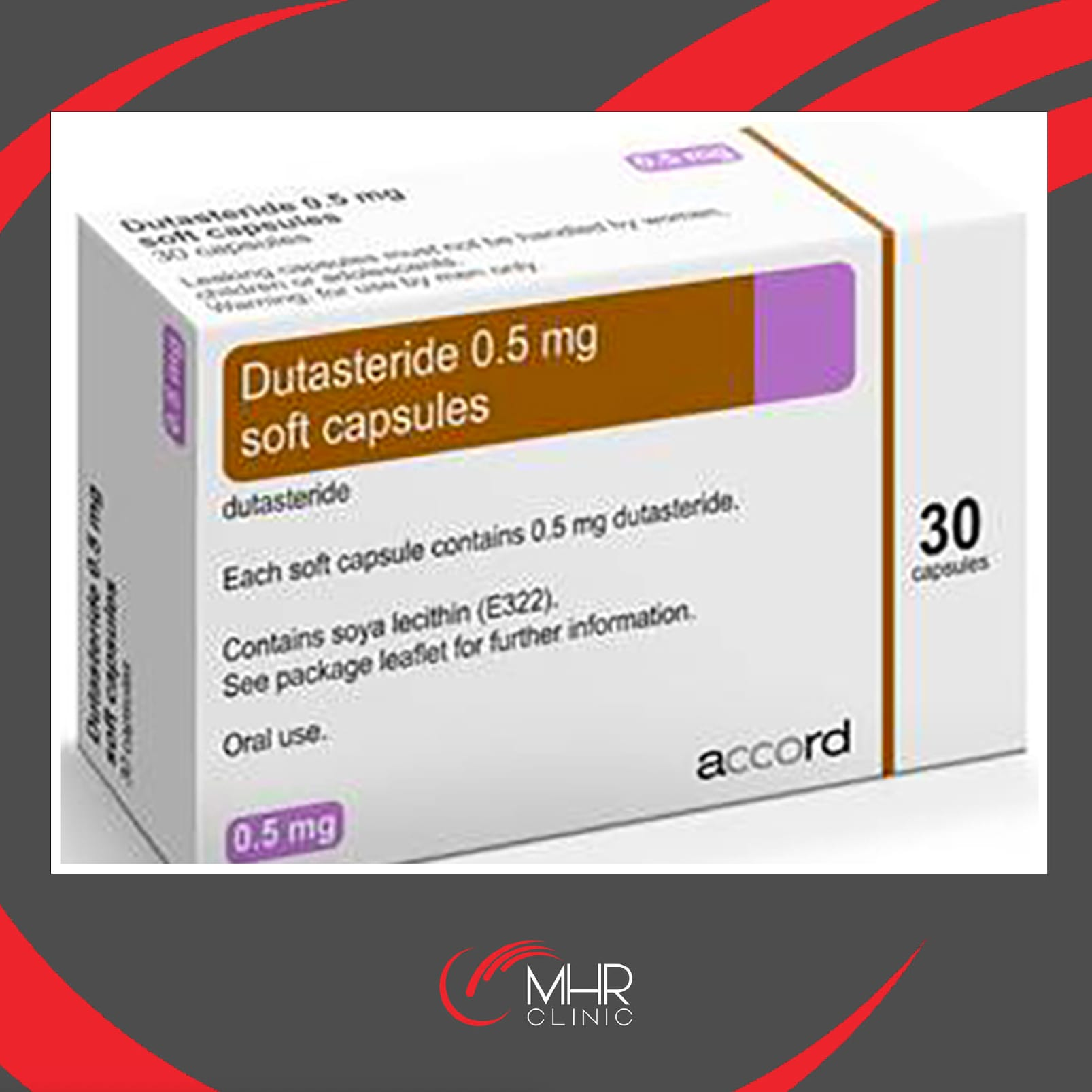 Dutasteride 0 5mg Tablets 30 Tablets Mhr Clinic Hair Restoration Specialists