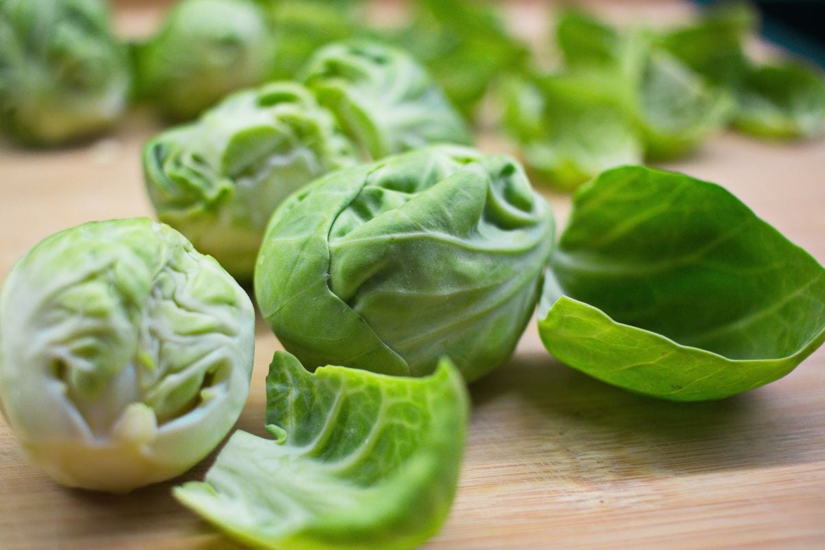 Brussel sprouts contain sulphur which supports hair growth and is the basis of hair protein keratin