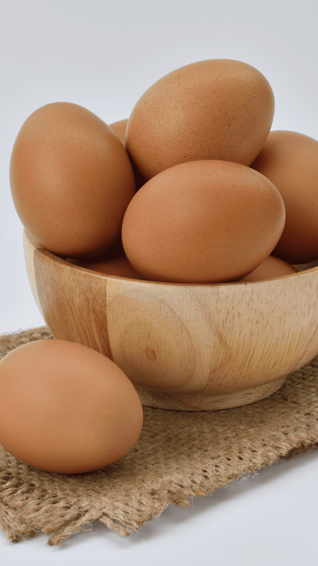 Eating eggs is recommended for the health of your transplant