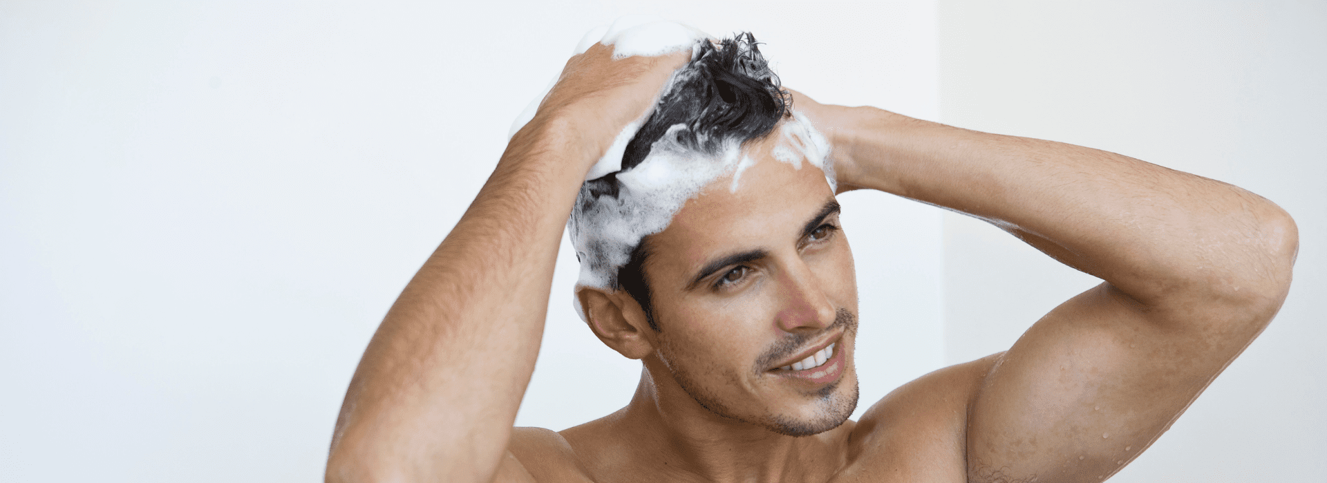 shampoo and washing a hair post hair transplant treatment