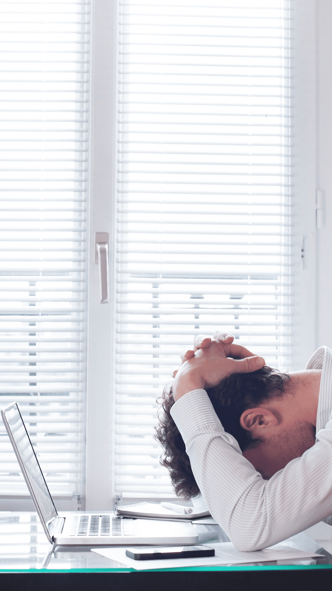 Having a reduced amount of stress can help with hair growth post hair transplant.