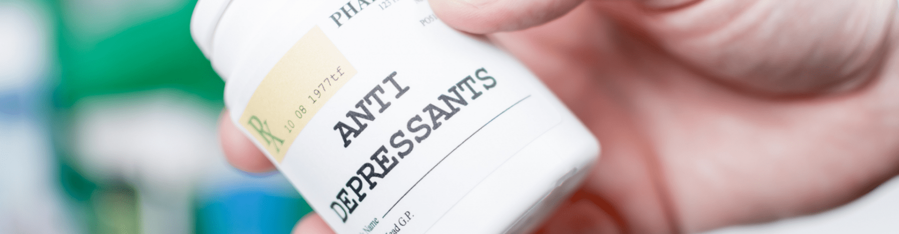 Hair loss can be caused by medication such as anti depressants